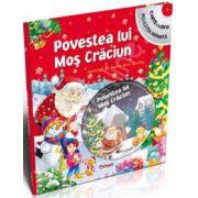 Povestea lui Mos Craciun (Carte cu DVD, povestea animata)