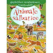Abtibilduri stralucitoare reutilizabile - Animale salbatice (+4 ani)