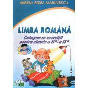 Limba Romana. Culegere de exercitii pentru clasele II-IV