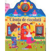 Pliant. Casute cu ferestre. Casuta cu ciocolata (12 pagini, cartonate)