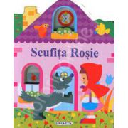 Pliant. Casute cu ferestre. Scufita Rosie (12 pagini, cartonate)