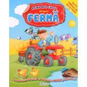 Prima mea carte despre Ferma (Cu 7+1 tablouri de completat!). +3 ani