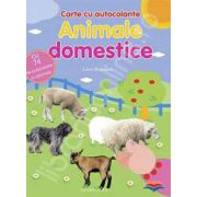 Animale domestice. Carte cu autocolante