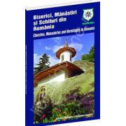 Biserici, manastiri si schituri din Romania (romana/engleza)