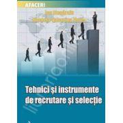 Tehnici si instrumente de recrutare si selectie
