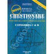 Chestionare auto 2012, categoria C si D