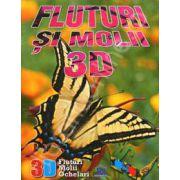 Fluturi si molii 3D (Contine ochelari 3D)