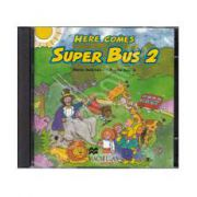 Here Comes Super Bus 2 - Beginner A1, Audio CDs (2) (Contine 2 cd-uri)