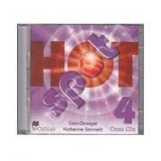 Hot Spot 4 Class Audio CDs (Contine 2 cd-uri)