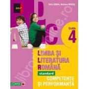 Limba si Literatura Romana, pentru clasa a IV-a. Standard. Competente si performanta