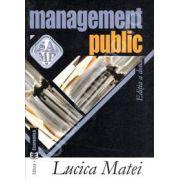 Management public (Editia a doua) - Lucica Matei