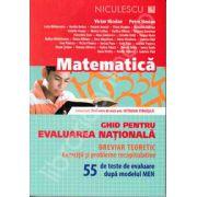 Matematica, ghid pentru evaluarea nationala. 55 de teste de evaluare dupa modelul MEN (Breviar teoretic)