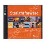 Straightforward Beginner A1, Class Audio CDs (Contine 2 cd-uri)