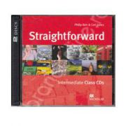 Straightforward Intermediate B1, Class Audio CDs (Contine 2 cd-uri)