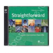 Straightforward Upper Intermediate B2, Class Audio CD (Contine 2 cd-uri)