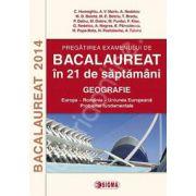Bacalaureat 2014. Geografie - Europa, Romania, Uniunea Europeana. Probleme Fundamentale