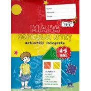Mapa copilului istet. Activitati integrate, 4-5 ani (Avizat MEN 2013)