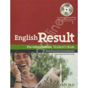 English Result Pre-Intermediate Students Book with DVD Pack