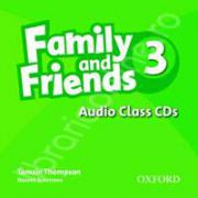 Family and Friends 3 Class Audio CDs (3)