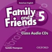 Family and Friends American Edition 5 Class CD (3)
