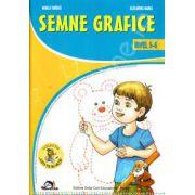 Semne grafice nivel 5-6 ani (Colectia ,,Leo te invata') Editie, 2012