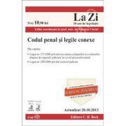 Codul penal si legile conexe. Actualizat la 20.10.2013 (Cod 523)