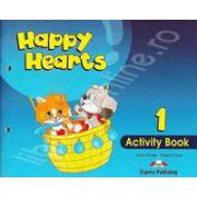 Curs pentru limba engleza Happy Hearts 1 Activity Book