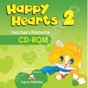 Curs pentru limba engleza Happy Hearts 2 Teachers Resource CD-ROM