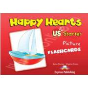 Curs pentru limba engleza Happy Hearts Starter Pictures Flashcards