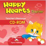 Curs pentru limba engleza Happy Hearts Starter Teachers Resource CD-ROM