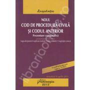 Noul Cod de procedura civila si Codul anterior. Prezentare comparativa (Actualizat 16 aprilie 2013)