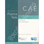 Practice Tests Plus CAE 2 New Edition with Key with Multi-ROM and Audio CD Pack