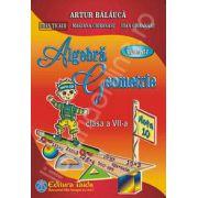 Auxiliar de Aritmetica, Algebra si Geometrie pentru clasa a VII-a