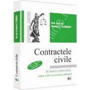 Contractele civile - in noul Cod Civil. Contine teste grila conform noului Cod civil. Editia a III-a revazuta si adaugita