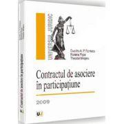 Contractul de asociere in participatiune