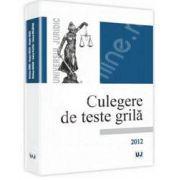 Culegere de teste grila - 2012