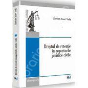 Dreptul de retentie in raporturile juridice civile