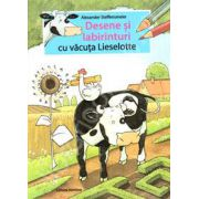 Desene si labirinturi cu vacuta Lieselotte