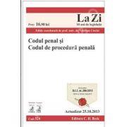 Codul penal si Codul de procedura penala (Actualizat la 25.10.2013)