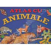 Atlas cu Animale (Carte Puzzle)