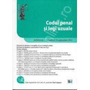 Codul penal si legi uzuale. Ad litteram. Actualizat 24 septembrie 2012