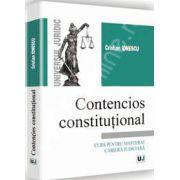 Contencios constitutional - Curs pentru masterat cariera judiciara