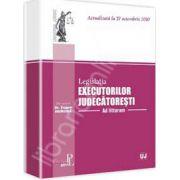 Legislatia executorilor judecatoresti. Actualizata la 27 octombrie 2010