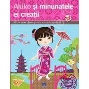 Akiko si minunatele ei creatii - 300 de autocolante pentru micutele japoneze