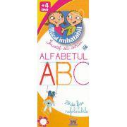 Invat sa scriu Alfabetul - 28 de fise refolosibile (Micul Imbatabil)