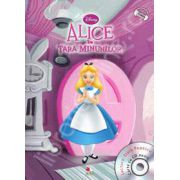 Alice in tara minunilor - Disney Audiobook (Carte + CD)