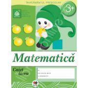 Matematica, caiet de lucru grupa mica 3 ani.