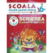 Scrierea. Elemente grafice. Activitati pentru copiii de la 6 la 7 ani - carte cu jocuri