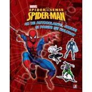 Spider-Man. 40 de autocolante, jocuri si pagini de colorat.