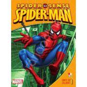 Spider-Man. Eroi in actiune - Carte de colorat 1